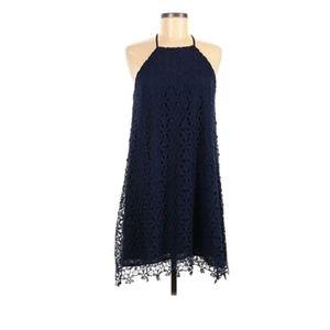 Chelsea28 mini dress lace navy s party goi…